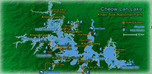 Khao Sok Map, Creative Commons